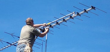 digital tv antenna installation