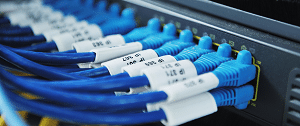 Apcoms Data fibre optic cabling