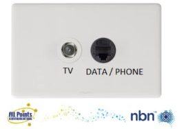 DATA phone tv outlet apcoms